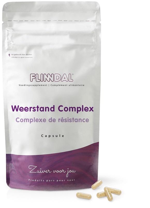 Afbeelding van Flinndal - Weerstand Complex - 30 - tabletten - Vitamine A, C, D, Zink en Echinacea voor weerstand - Voor 50+ en 70+ - 30 Capsules - Flinndal