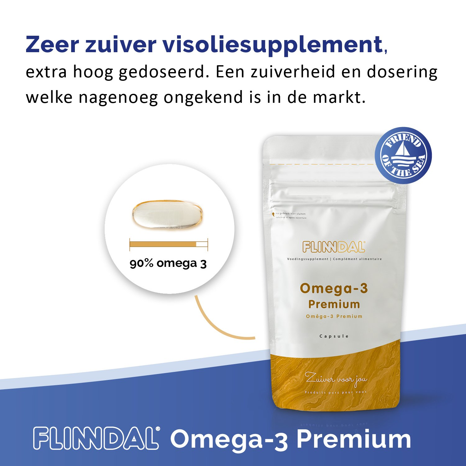 Omega-3 visoliesupplement