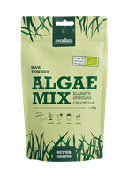 Algae raw powder mix