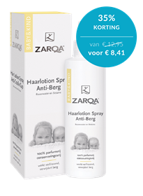 Baby en Kind Haarlotion Spray Anti-Berg 200ml