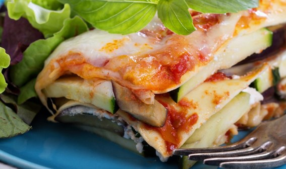 Recept: Ratatouille lasagne