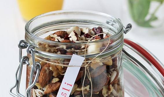 Recept: Homemade notenmuesli
