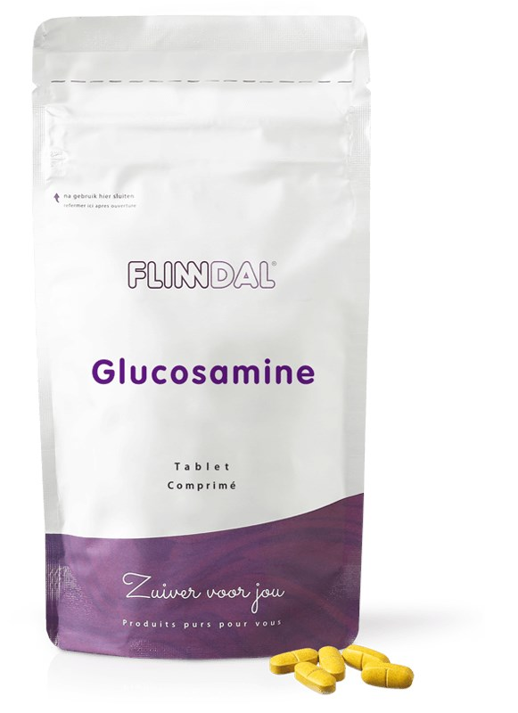 Afbeelding van Glucosamine 180 tabletten met herhaalgemak - 180 Tabletten - Flinndal