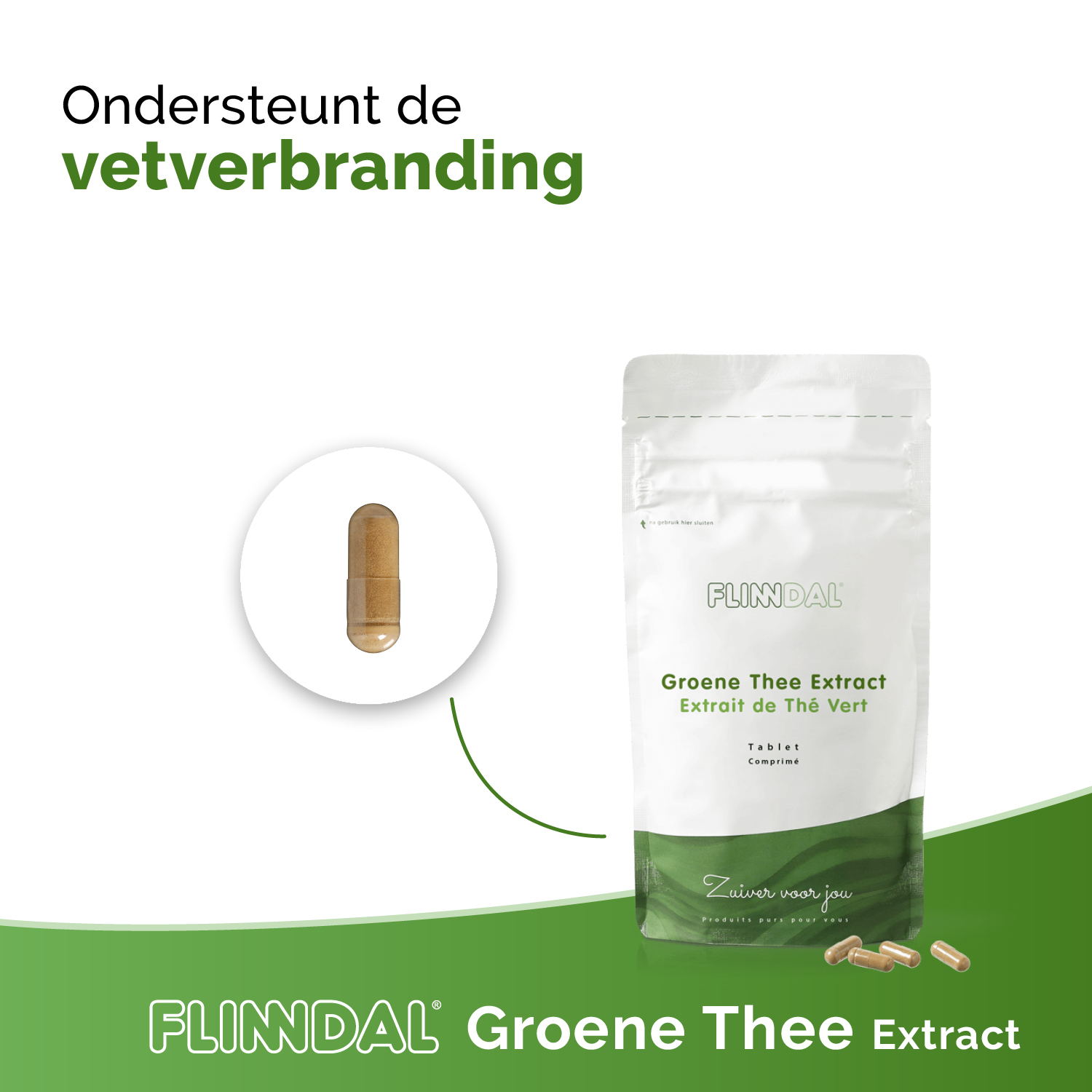Groene Thee Extract Nut