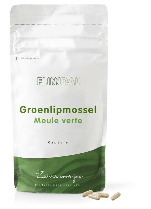 Afbeelding van Groenlipmossel 90 capsules met herhaalgemak - 90 Capsules - Flinndal