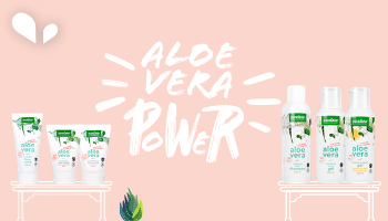 Aloe Vera Power: New organic Beauty range