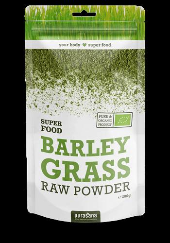 Barley grass  raw powder