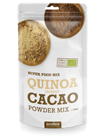 Quinoa instant cacao powder mix