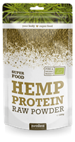 Hemp protein raw powder